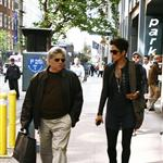 Halle Berry in New York with her manager 59949
