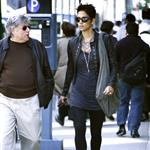 Halle Berry in New York with her manager 59951