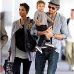 Halle Berry, Gabriel Aubry and their daughter Nahla  78099