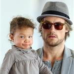 Halle Berry Gabriel Aubry and baby Nahla arrive in LA 50113