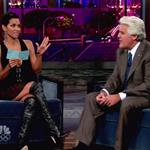 Halle Berry shows she's not pregnant on Jay Leno 47203