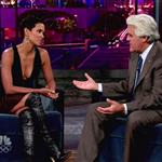 Halle Berry shows she's not pregnant on Jay Leno 47204