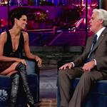 Halle Berry shows she's not pregnant on Jay Leno 47207