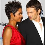 Halle Berry and Olivier Martinez walk the carpet hand in hand at Carousel of Hope Ball 71519