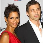 Halle Berry and Olivier Martinez walk the carpet hand in hand at Carousel of Hope Ball 71520