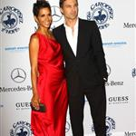 Halle Berry and Olivier Martinez walk the carpet hand in hand at Carousel of Hope Ball 71523