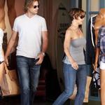 Halle Berry and Gabriel Aubry shopping before Mother's Day 38943