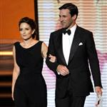 Jon Hamm and Tina Fey at the 2009 Emmy Awards  47273