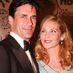 Jon Hamm and Jennifer Westfeldt at the 2009 Emmy Awards  47270