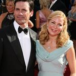 Jon Hamm and Jennifer Westfeldt at the 2009 Emmy Awards  47271