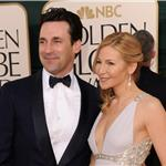 Jon Hamm and Jennifer Westfeldt at the Golden Globes 2011 76949