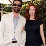 Jon Hamm Christina Hendricks at Critics' Choice Television Awards 2011 87957