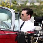 Jon Hamm on the set of Mad Men 60468