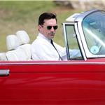 Jon Hamm on the set of Mad Men 60473