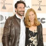 Jon Hamm Jennifer Westfeldt Independent Spirit Awards 2011 80312