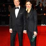 Colin Firth and wife Livia at the 2012 BAFTAs 105969