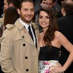 Tom Hardy and Charlotte Riley attend European premiere of 'The Dark Knight Rises' 121097