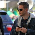 Tom Hardy working on This Means War in Richmond, BC 71475