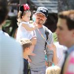 David and Victoria Beckham take Harper Seven and their boys to Disneyland 116802