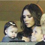 Victoria Beckham and Harper Beckham with Cruz Beckham watch the MLS Cup Final 98844