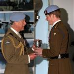 Prince Harry at his army pilot graduation with Chelsy Davy  60564
