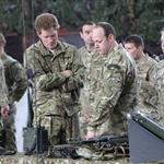 Prince Harry at RAF Honington meeting up with Afghanistan veterans  105419