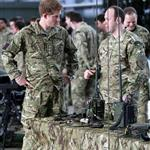 Prince Harry at RAF Honington meeting up with Afghanistan veterans  105432