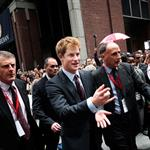 Prince Harry tours New York on an official visit 40092