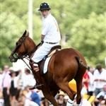 Prince Harry plays polo and quivers New York 40215