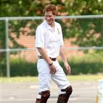 Prince Harry plays polo and quivers New York 40217