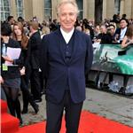 Alan Rickman at Harry Potter and the Deathly Hallows Part 2 final London premiere 89411