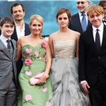 JK Rowling Emma Watson Daniel Radcliffe Rupert Grint at Harry Potter and the Deathly Hallows Part 2 final London premiere 89429