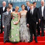 JK Rowling Emma Watson Daniel Radcliffe Rupert Grint at Harry Potter and the Deathly Hallows Part 2 final London premiere 89430