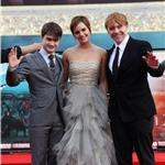 Emma Watson Daniel Radcliffe Rupert Grint at Harry Potter and the Deathly Hallows Part 2 final London premiere 89433