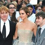 Emma Watson Daniel Radcliffe Rupert Grint at Harry Potter and the Deathly Hallows Part 2 final London premiere 89434