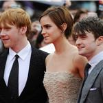 Emma Watson Daniel Radcliffe Rupert Grint at Harry Potter and the Deathly Hallows Part 2 final London premiere 89435
