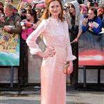 Bonnie Wright at Harry Potter and the Deathly Hallows Part 2 final London premiere 89455