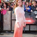 Bonnie Wright at Harry Potter and the Deathly Hallows Part 2 final London premiere 89456
