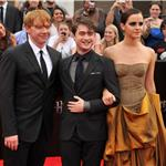 Emma Watson, Daniel Radcliffe, Rupert Grint at New York premiere of Harry Potter and the Deathly Hallows Part 2  89813