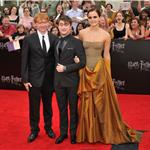 Emma Watson, Daniel Radcliffe, Rupert Grint at New York premiere of Harry Potter and the Deathly Hallows Part 2  89814