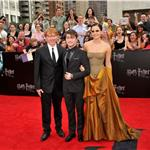 Emma Watson, Daniel Radcliffe, Rupert Grint at New York premiere of Harry Potter and the Deathly Hallows Part 2  89817