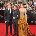 Emma Watson, Daniel Radcliffe, Rupert Grint at New York premiere of Harry Potter and the Deathly Hallows Part 2  89818