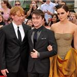 Emma Watson, Daniel Radcliffe, Rupert Grint at New York premiere of Harry Potter and the Deathly Hallows Part 2  89819
