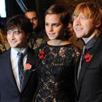 Emma Watson Daniel Radcliffe Rupert Grint the Harry Potter and the Deathly Hallows Part 1 London premiere 72866