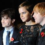 Emma Watson Daniel Radcliffe Rupert Grint the Harry Potter and the Deathly Hallows Part 1 London premiere 72868