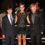 Emma Watson Daniel Radcliffe Rupert Grint the Harry Potter and the Deathly Hallows Part 1 London premiere 72869