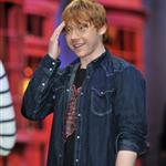 Rupert Grint at a Photo call at the worldwide Grand Opening cast and crew junket for the opening of Warner Bros. Studio Tour London - The Making of Harry Potter at Leavesden Studios 110109