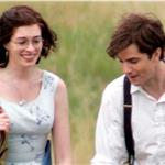 Anne Hathaway Jim Sturgess shoot One Day on Arthur's Seat in Edinburgh 66432