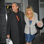 Goldie Hawn pictured leaving the Annabels members club after 4.30 am in London 108424