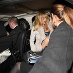 Goldie Hawn pictured leaving the Annabels members club after 4.30 am in London 108427